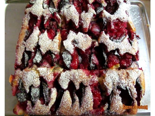 Gâteau aux prunes