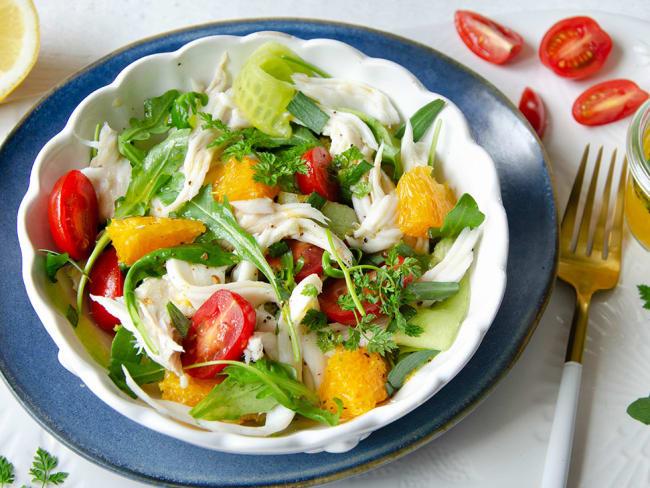 Salade de raie aux agrumes