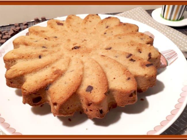 Gâteau au beurre de cacahuètes et chocolat