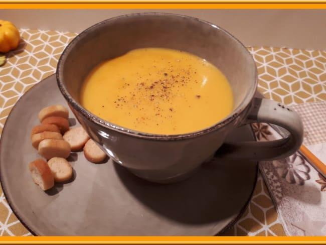 Soupe de potimarron aux épices