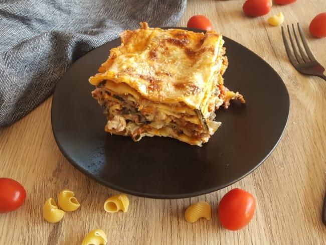 Lasagne aux blettes et à la bolognaise
