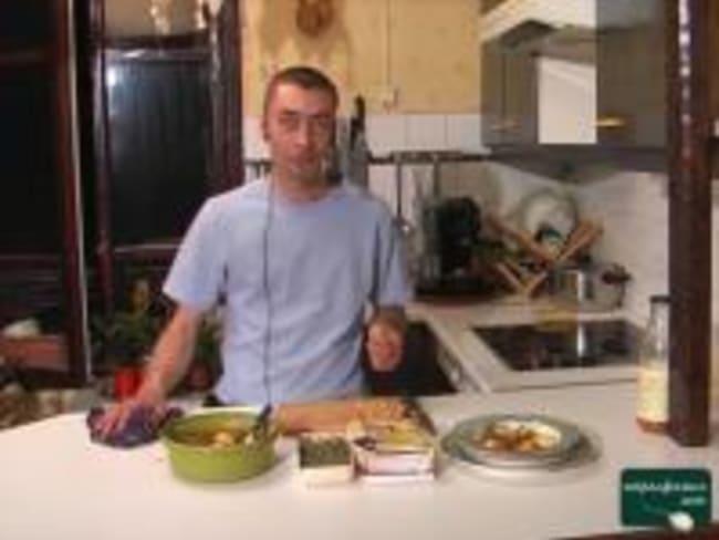 Soupe de pêches au romarin