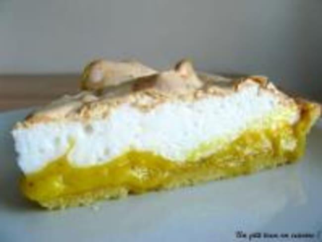 Tarte au Citron sur sa Pâte Sablée Maison