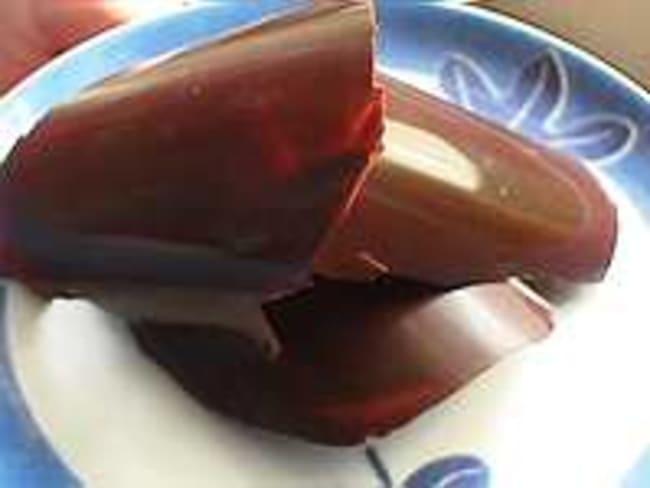 Décors en chocolat