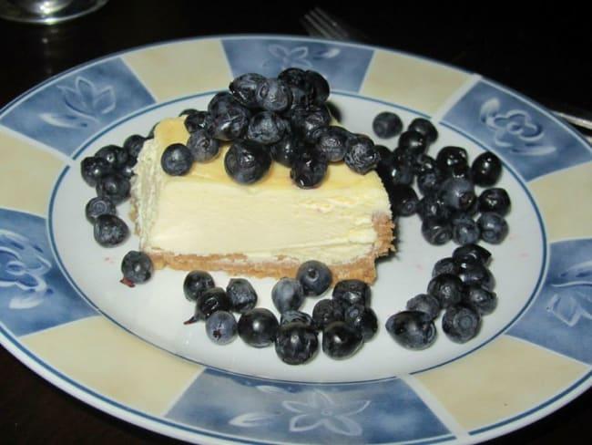 Le vrai cheesecake comme à New York