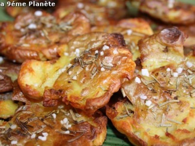 Croustillantes fleurs de pommes de terre