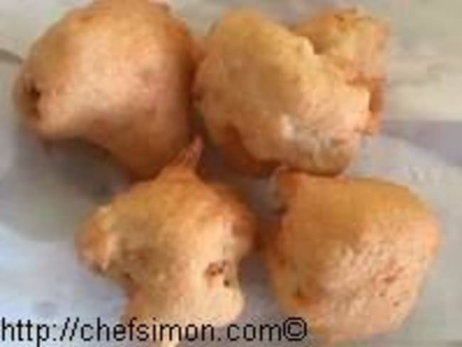 Fritots de chou fleur