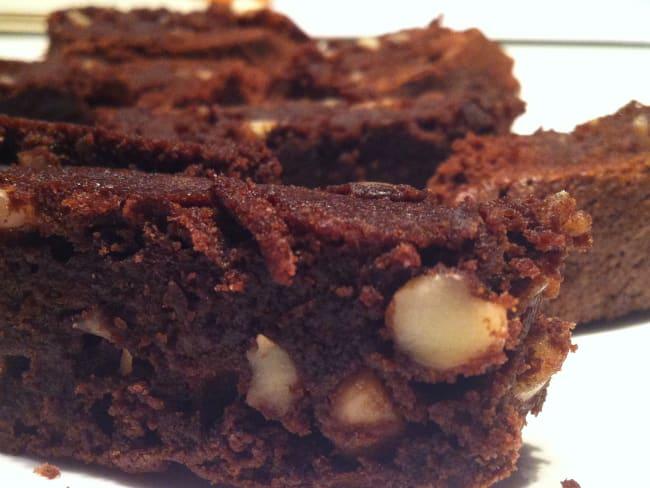 Brownie Chocolat amandes
