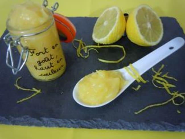 Lemon curd ultra citronné et allégé
