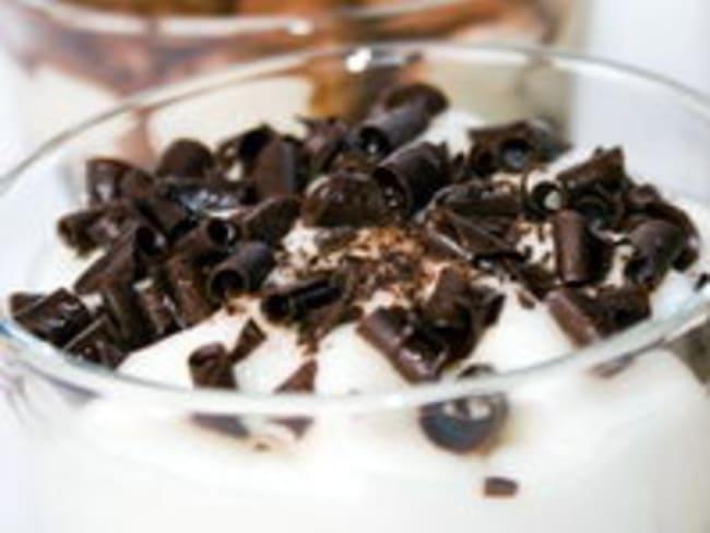 Granité menthe chocolat