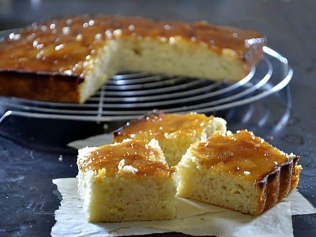 Gâteau citron au lait Iben et caramel de citron