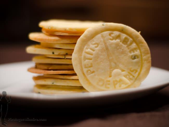 Sablés au citron et au romarin