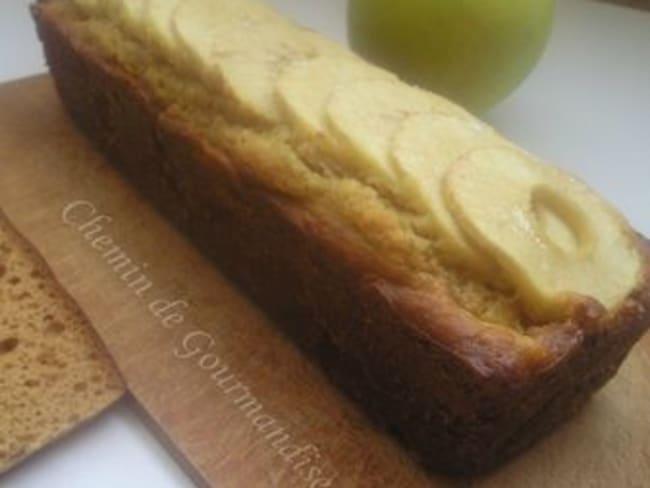 Cake au pommes & pain d'épices