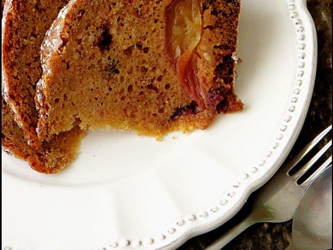 Gâteau aux pommes, airelles & canneberges