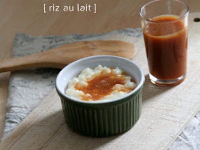 Riz au Lait au Caramel au Beurre Salé