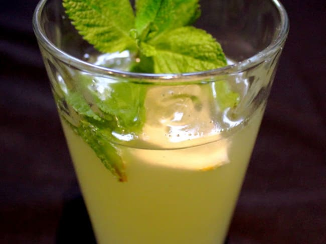 Cocktail GMC Gingembre Menthe Citron