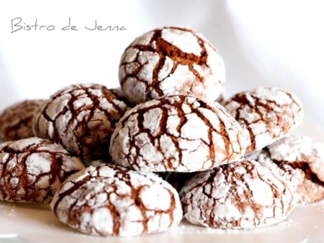 Biscuits craquelés au Chocolat par Jenna