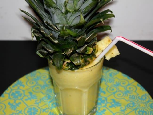 Cocktail de fruits frais : Mangue, ananas & citron
