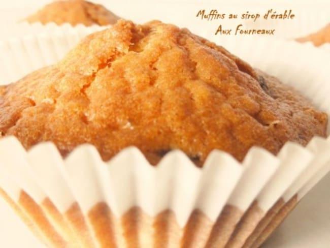 Muffins au sirop d'érable 100% Québec