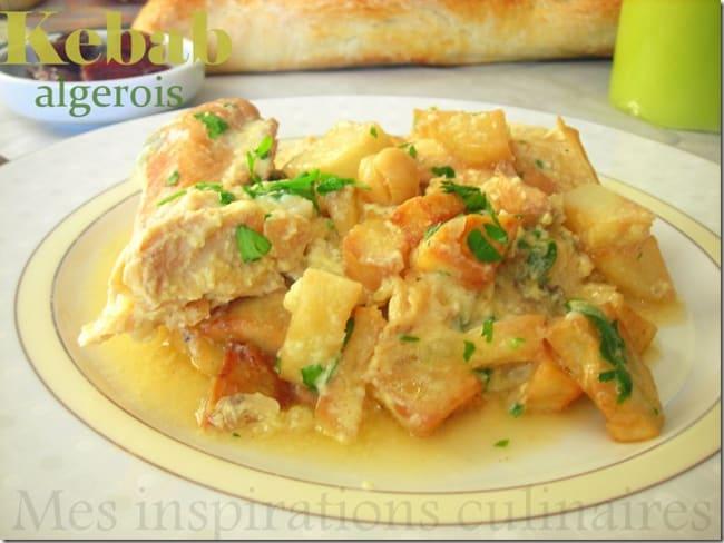 Kebab algerois au poule
