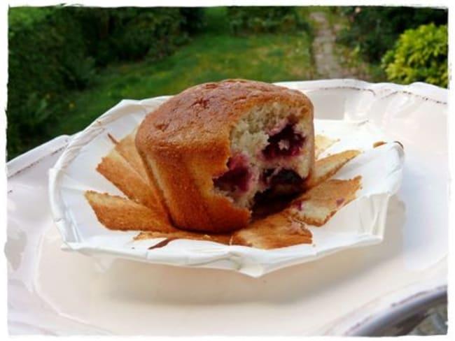 Muffins cerise groseille