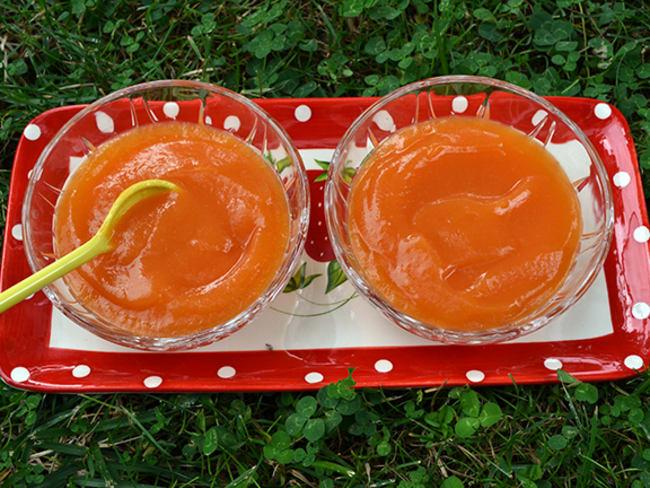 Compote de melon à la fleur d'oranger