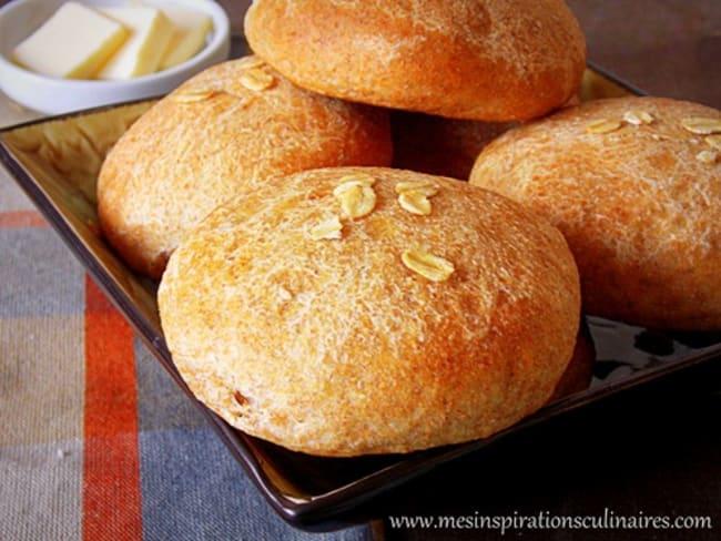 petits pains à la farine de blé complet