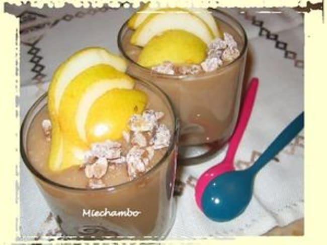 Crème de Poires et Marrons à la Cannelle
