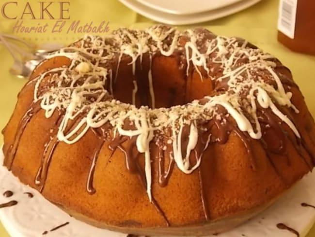 Cake marbre Houriat el matbakh