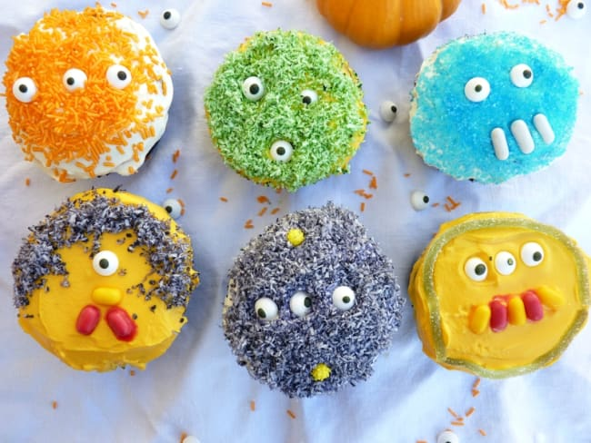 Cupcake monstres