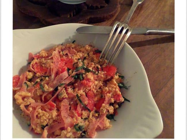 Omelette aux saveurs Italiennes