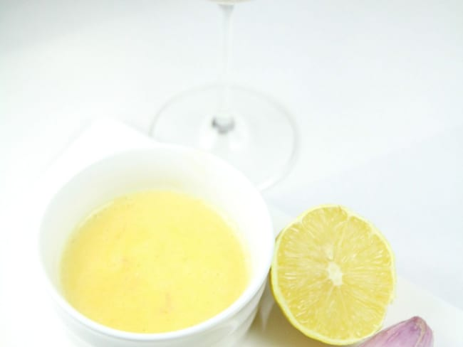 Beurre blanc ou beurre Nantais