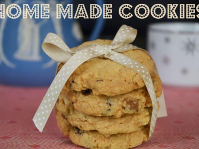 Cookies flocons d'avoine chocolat