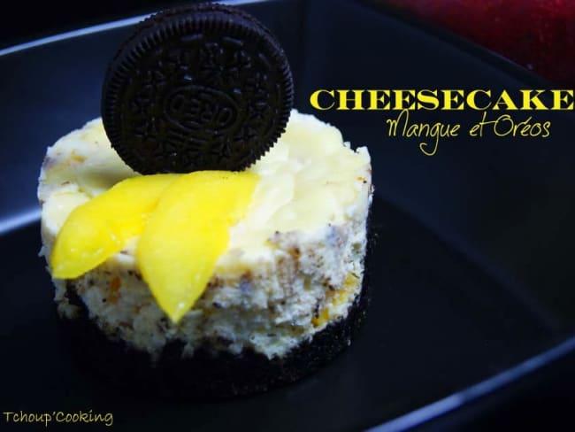 Cheesecake Mangue et Oréo