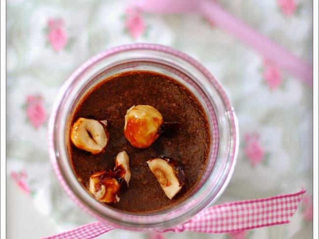 Mousse chocolat-praliné