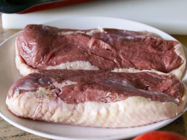 Préparer un magret de canard à la cuisson