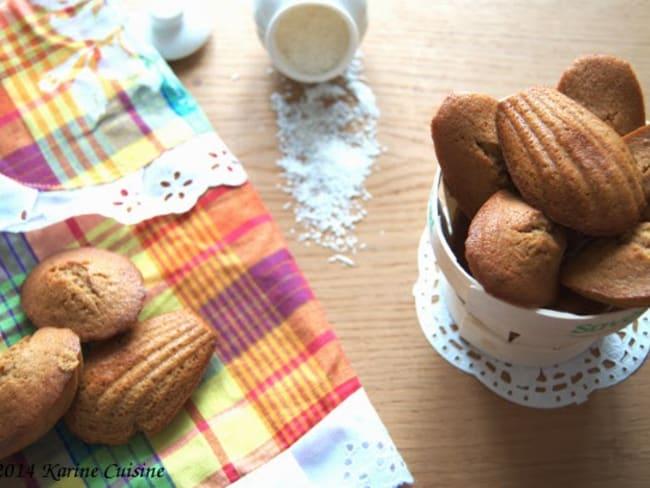 Les madeleines complétement Koco {à la noix de coco}