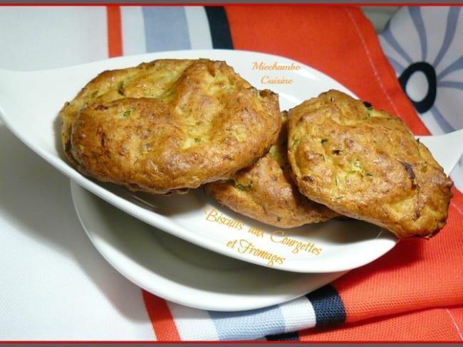 Biscuits de courgettes aux deux Fromages