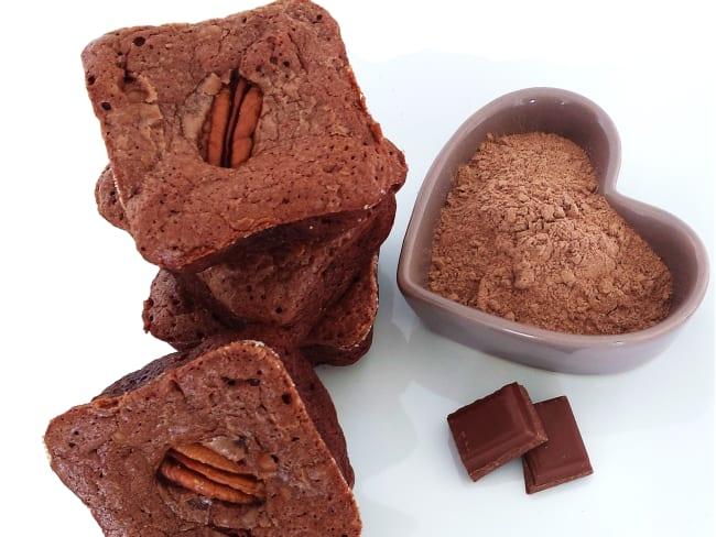 Brownie chocolat aux noix de Pécan