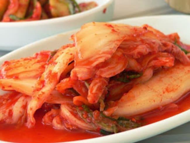 Kimchi rapide