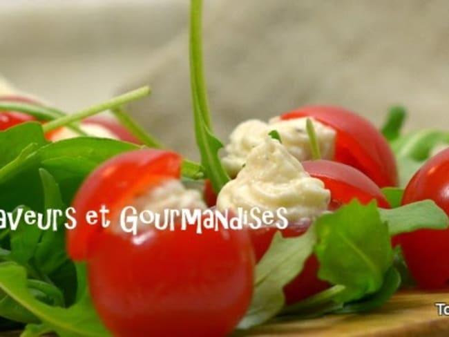 Tomates farcies au Petit Billy.