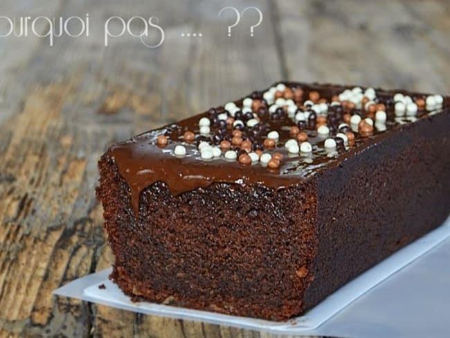Cake chocolat gingembre - Philippe Rigollot