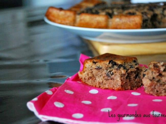 Gâteau à l'amande et au chocolat