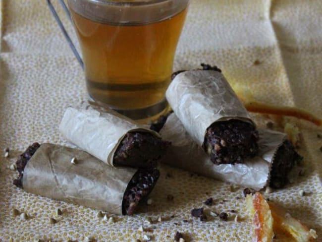 Barres de céréales sarrasin cacao orange confite