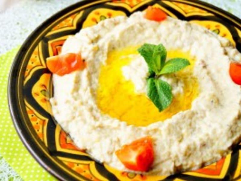 Baba Ghanouj Mtabal Caviar D Aubergine A La Libanaise Recette