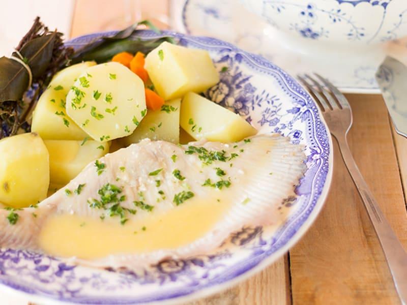Ailes De Raie Au Beurre Blanc Recette Par Une French Girl Cuisine