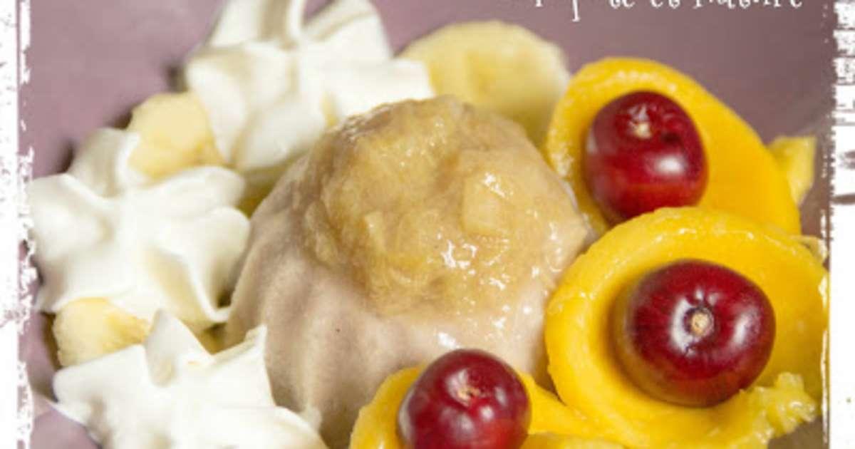 recettes de glace banane et de dessert aux fruits. Black Bedroom Furniture Sets. Home Design Ideas