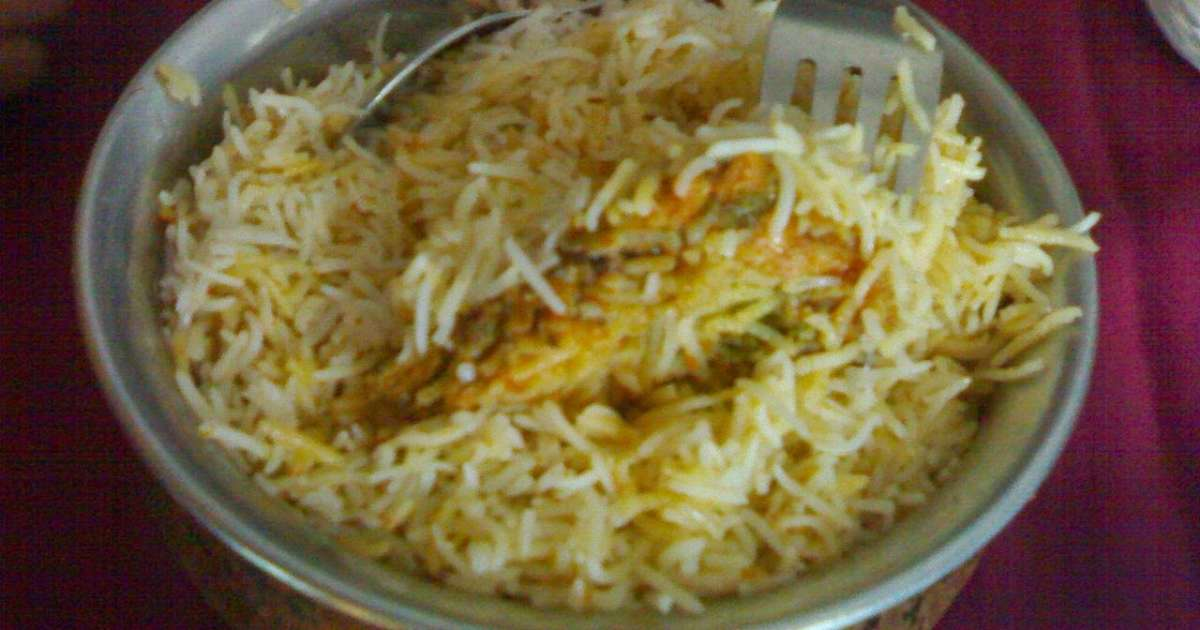 riz basmati au poulet hyderabadi biryani ramadan inde recette par streetfood et cuisine du. Black Bedroom Furniture Sets. Home Design Ideas