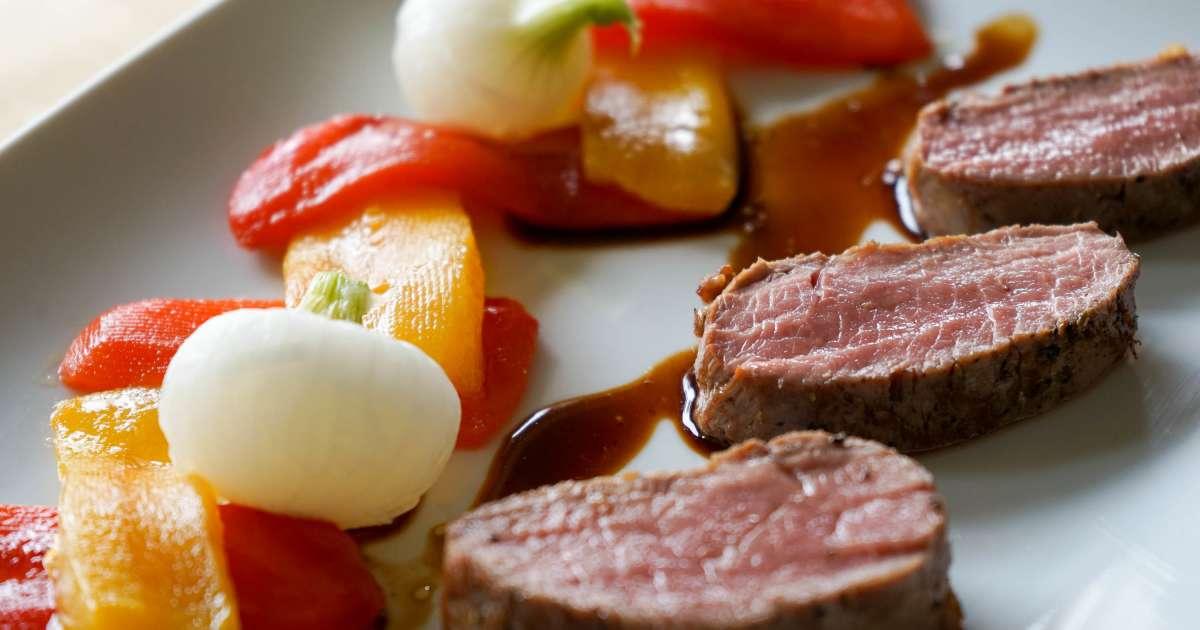 filet d 39 agneau basse temp rature la plancha recette de filet d 39 agneau en deux cuissons. Black Bedroom Furniture Sets. Home Design Ideas
