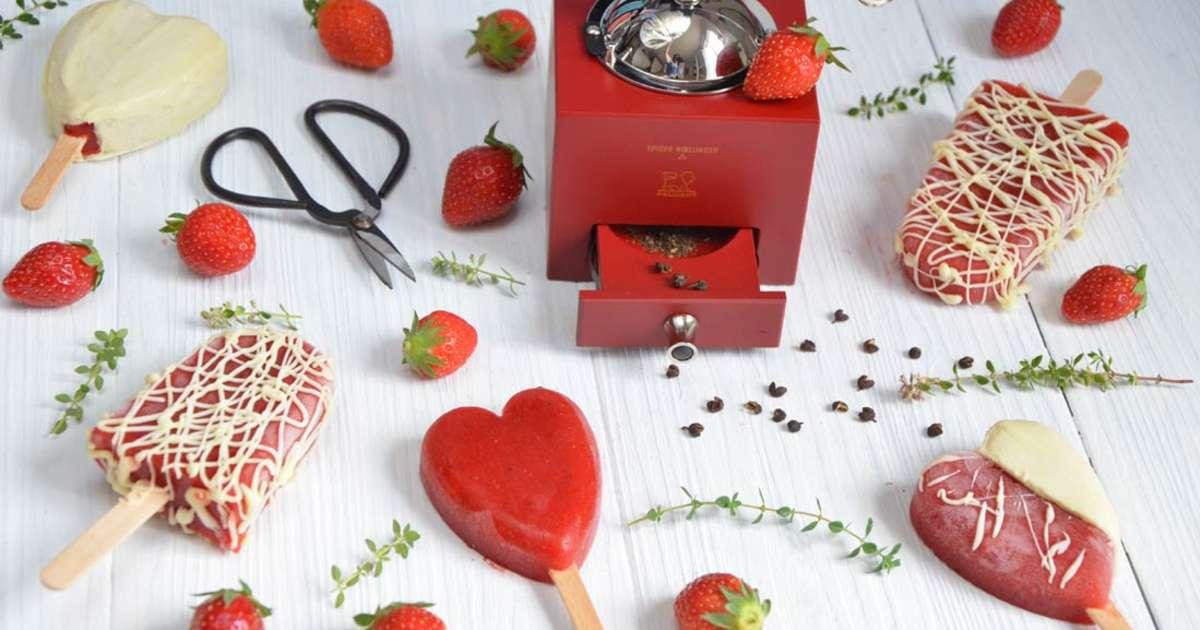 fruit enrobe de chocolat